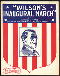 Wilson's Inaugural March (007293-CPMLG)