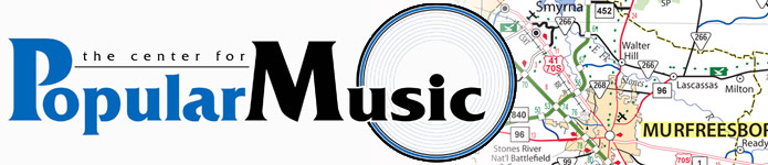 Center for Popular Music horizontal logo